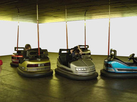 White Cube Bumper Cars